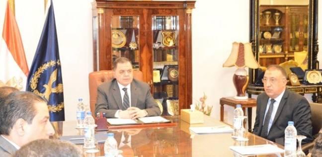 """وزير الداخلية يجتمع بقيادات """"أمن الإسكندرية"""" قبل ساعات من صلاة العيد"""