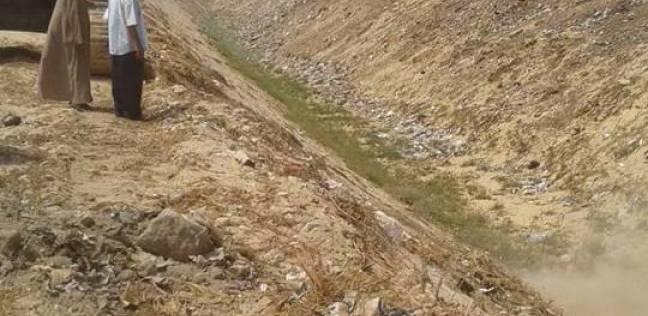 تطهير مخرات السيول ورفع درجة الاستعداد للتقلبات الجوية في المنيا