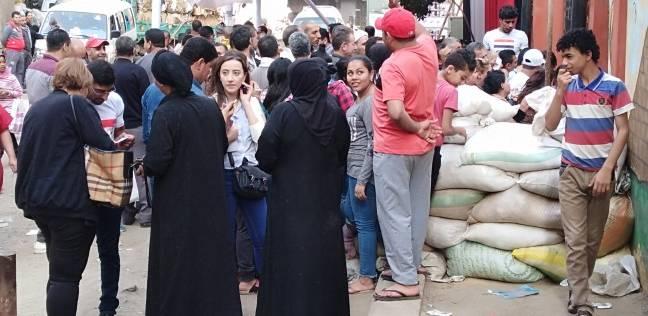 رقص وفرحة للناخبين أمام لجنة الجبرتي بمنشأة ناصر