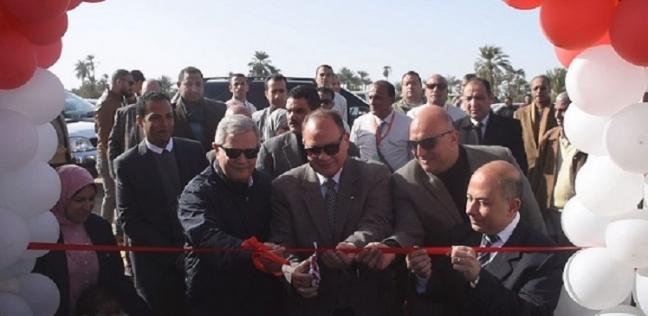 """افتتاح خزان ورافع مياه الشرب بـ""""بيهمو"""" في الفيوم بتكلفة 23 مليون جنيه"""