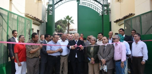 الخشت يفتتح المرحلة الأولى من تجديدات المدينة الجامعية