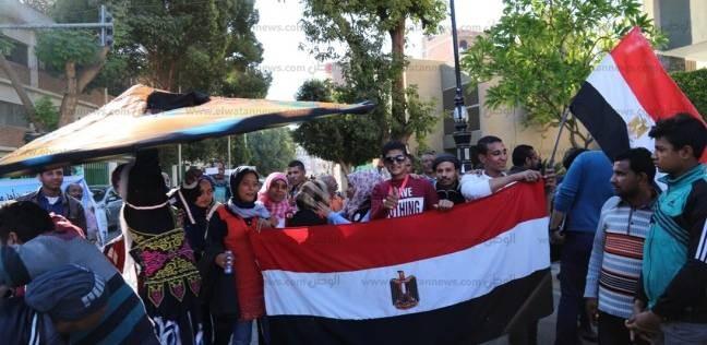 """""""معاك من أجل مصر"""" تحتفل بانتهاء الانتخابات الرئاسية بالغردقة"""
