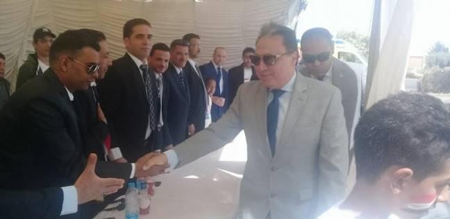 وزير الصحة يترأس غرفة الأزمات والطوارئ بالوزارة تزامنا مع الانتخابات