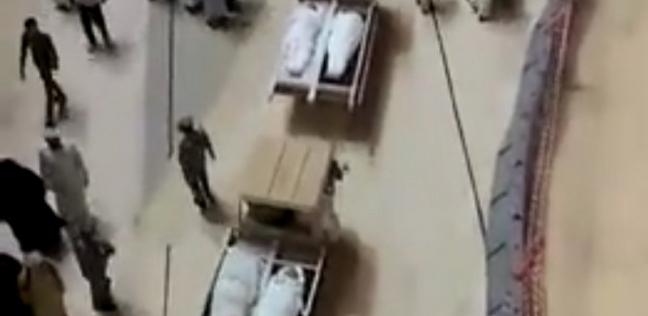 مقطع من الفيديو المتداول