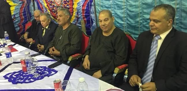 مؤتمر جماهيري بقرية شطانوف بأشمون لدعم السيسي بمشاركة نقابة الفلاحين