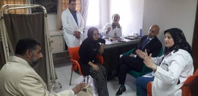 وكيل وزارة الصحة يتفقد مستشفى القنايات في الشرقية