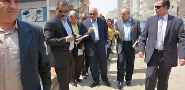 محافظ الجيزة يوجه برفع كفاءة أعمال النظافة في الشوارع الرئيسية
