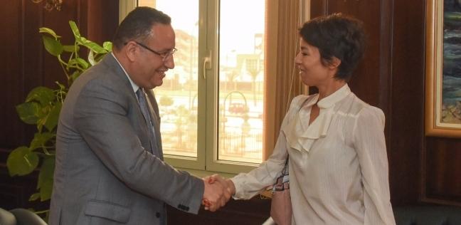 محافظ الإسكندرية يؤكد على توطيد العلاقات مع فرنسا بجميع المجالات