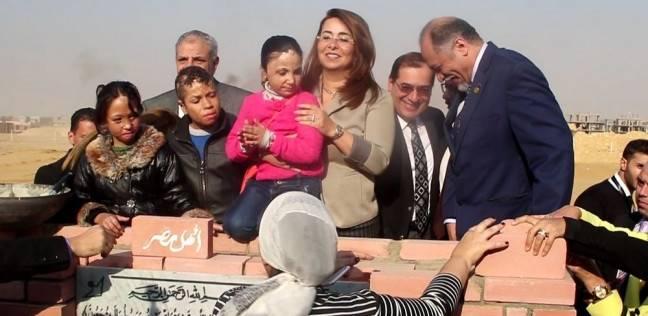 """محلب يشارك في وضع حجر الأساس لمستشفى """"أهل مصر"""" لعلاج الحروق بالمجان"""