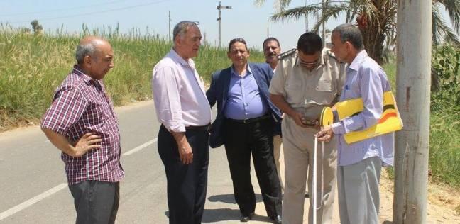 تخصيص قطعة أرض لإنشاء وحدة مرور بمركز مطاي في المنيا