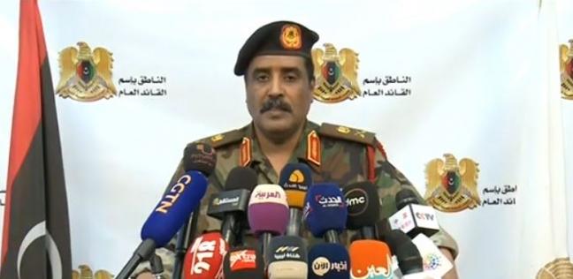 المسماري: المقاتلات الليبية تدك حصون الإرهاب.. وتركيا تدعمه