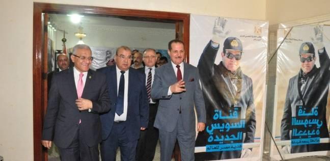 رئيس جامعة المنيا يشارك في معرض أخبار اليوم للجامعات المصرية بالرياض