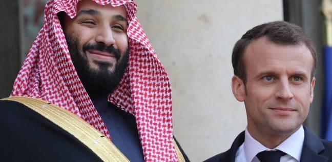 ولي العهد السعودي يختتم زيارته إلى فرنسا بعشاء مع ماكرون