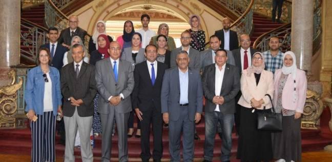 """تعاون بين جامعة عين شمس و""""أنليميتيد بريس"""" لتنفيذ برامج تدريبية"""
