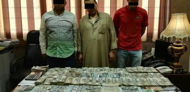 تفاصيل القبض على تشكيل عصابي يتاجر في العملة الأجنبية