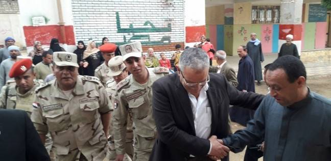 إقبال كثيف في لجان مركز أبوقرقاص بالمنيا