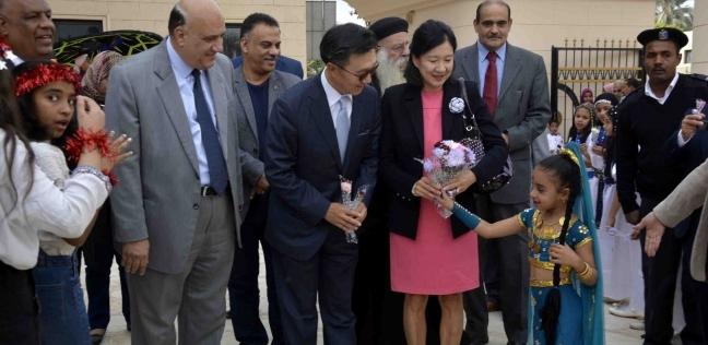 انطلاق فعاليات اليوم الثقافي الكوري بالأقصر بحضور سفير كوريا