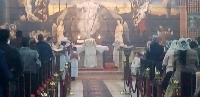"""توافد أقباط جنوب سيناء على الكنائس للاحتفال بـ""""عيد الميلاد"""""""