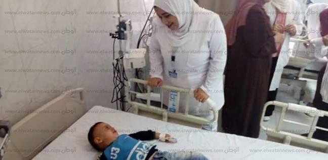 تجهيز أول 4 أسرة عناية مركزة متكاملة للأطفال بمستشفى الإسماعيلية العام