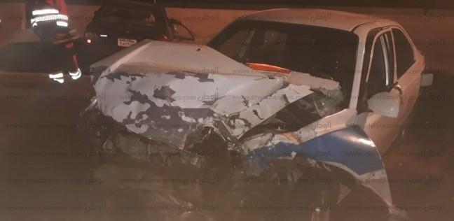 إصابة 6 أشخاص بينهم 5 سياح من الدانمارك في حادثي سير بجنوب سيناء