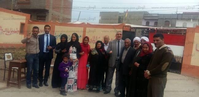 """""""القبائل العربية"""" تتوافد على اللجان الانتخابية بمسقط رأس """"عصام الحضري"""""""