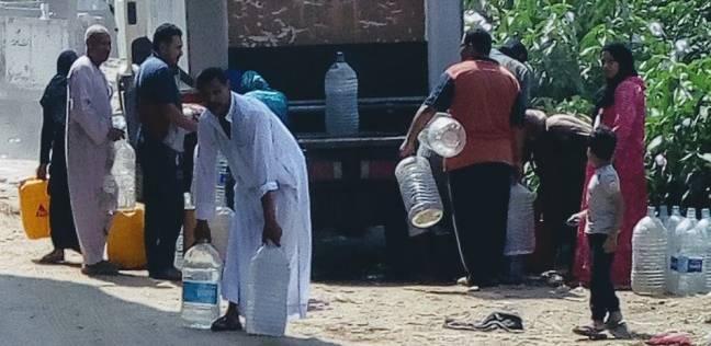 """""""مقطوعة أو ملوثة"""".. """"الوطن"""" ترصد معاناة أهالي الطالبية مع مياه الشرب"""