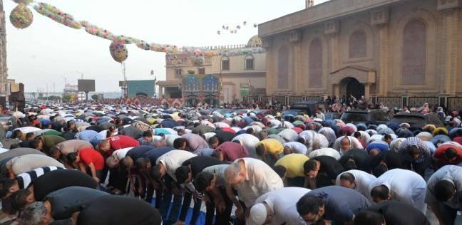 صلاة عيد الأضحى في المنصورة