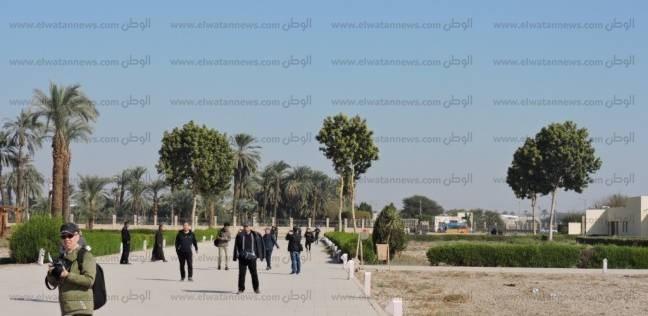 120 سائحا أجنبيا يزورون معبد دندرة في قنا