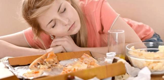النعاس بعد الأكل
