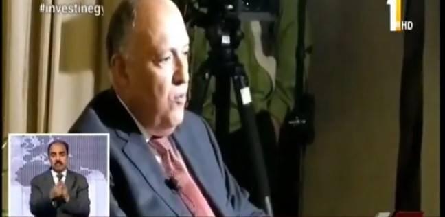 سامح شكري: لا يوجد مفاوضات مباشرة بين قطر ودول الرباعي حاليا
