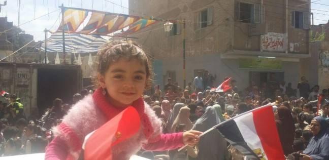 """المئات يتظاهرون في """"البهو فريك"""" بالدقهلية: """"انزل شارك"""""""