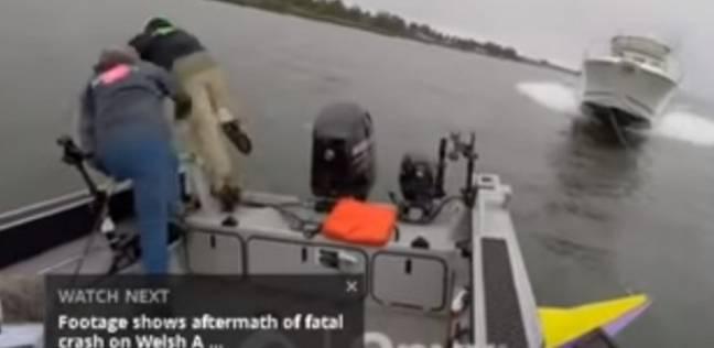نجاة صيادين من الموت في آخر لحظة