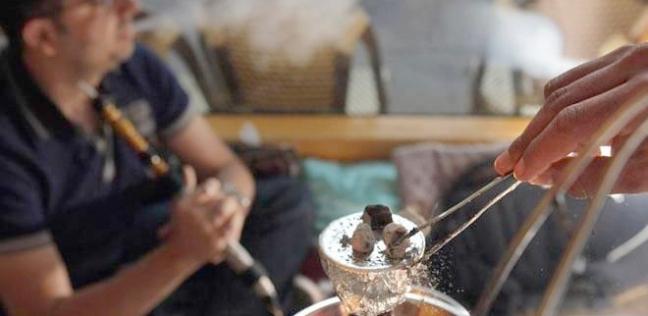 تدخين الشيشة - صورة أرشيفية