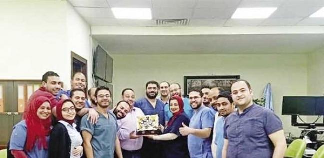 الاحتفال بعيد زاوج دكتور في حجر اسنا