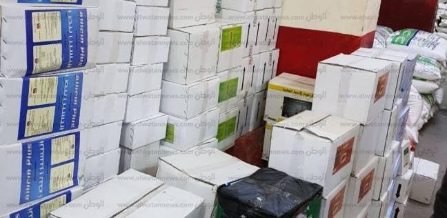 ضبط 4 مراكز لبيع وتداول الأدوية البيطرية بدون ترخيص بالشرقية