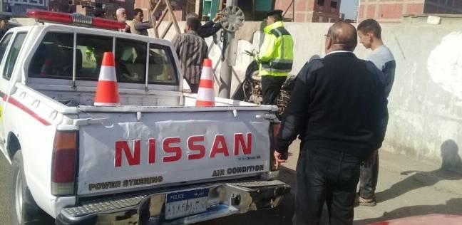 إعادة حركة تسيير السيارات على الأوتوستراد بعد إنقلاب سيارة