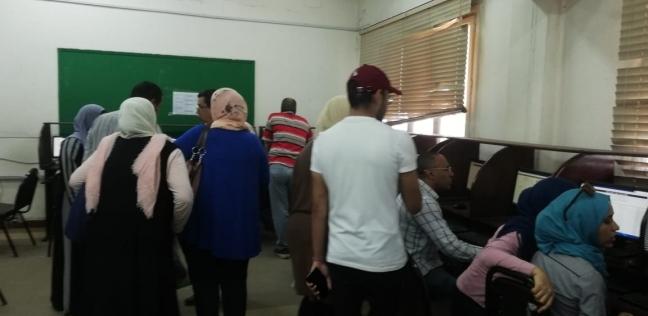 125 طالبا سجلوا رغباتهم بمعامل تنسيق الدراسات العليا بجامعة القاهرة