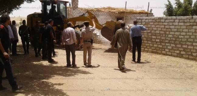 استرداد 25.5 فدان و1435 متر أراض أملاك دولة بمركزين في أسيوط