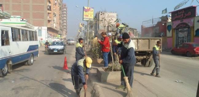 حملات موسعة لرفع القمامة وإزالة الإشغالات في الزقازيق