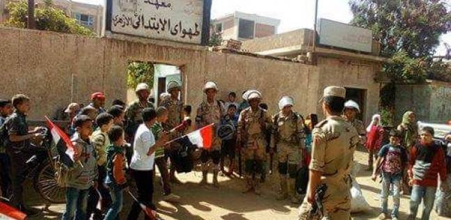 لليوم الثاني.. قوات الجيش والشرطة تنتشر بمحيط لجان الانتخابات في قنا