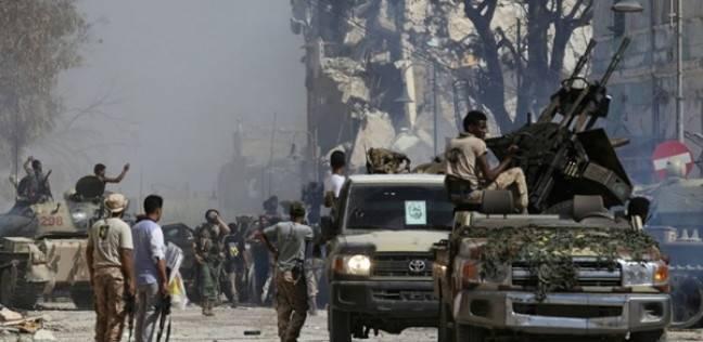 اشتباكات داخل مقر مؤسسة النفط بالعاصمة الليبية طرابلس