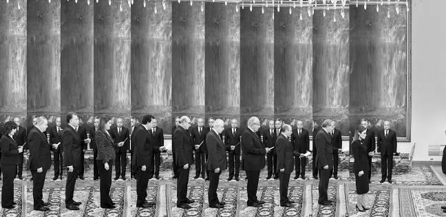 التعديل الثانى لـ«حكومة إسماعيل»: 9 وزراء و5 محافظين جدد يؤدون اليمين الدستورية أمام «السيسى»