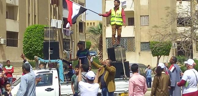 هدوء في اللجان الانتخابية بالشيخ زايد