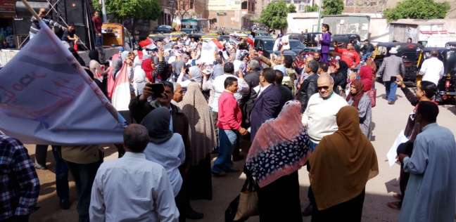 إقبال كبير من الناخبين على لجان الاقتراع بمركز ومدينة كفرسعد في دمياط