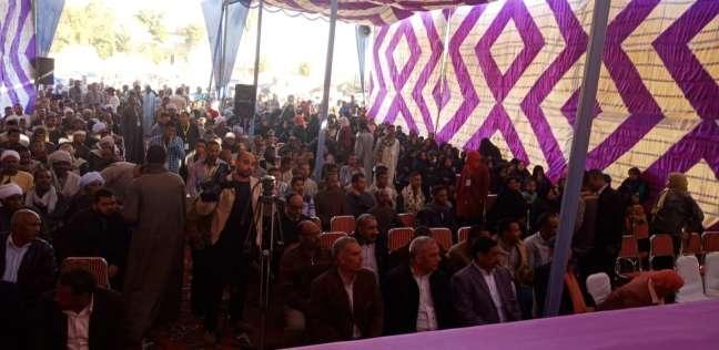 مؤتمر جماهيري حاشد لمشروع بناء مرونة نظم الأمن الغذائي بالصعيد