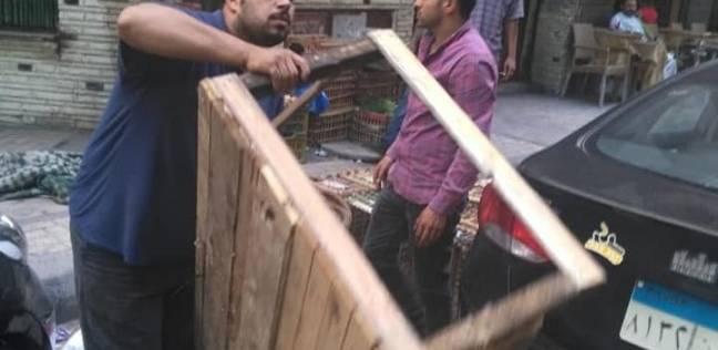 حي المنتزه بالإسكندرية يشن حملة لرفع تعديات الطريق العام