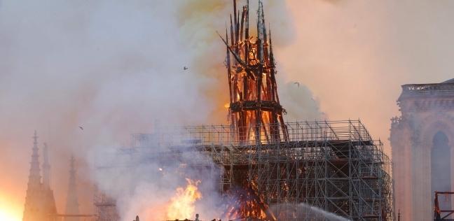 قبل حريق البرج.. 3 عمليات تشوية تعرضت لها كاتدرائية نوتردام التارخية