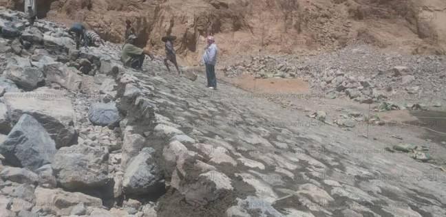 10 ملايين جنيه لحماية وادي أبو خشيب بمدينة دهب من مخاطر السيول