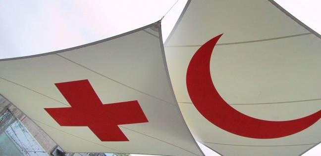 """الهلال الأحمر يدخل داريا السورية تمهيدا لتنفيذ اتفاق """"خروج المقاتلين"""""""