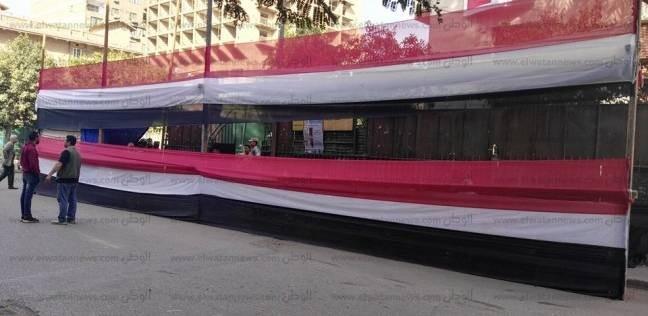 ألوان علم مصر تغلف لجان التصويت بالانتخابات الرئاسية